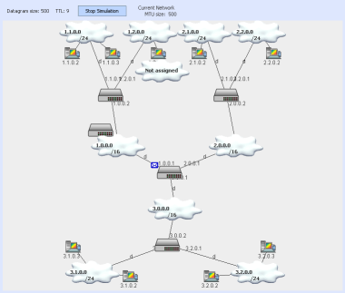 RAD Static Routing Java Applet